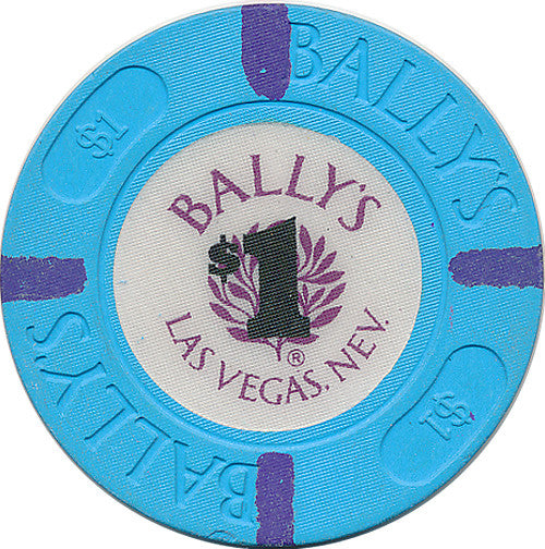 Bally's, Las Vegas NV (#2) $1 Casino Chip - Spinettis Gaming