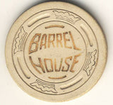Barrel House (cream 1952) Chip - Spinettis Gaming - 2