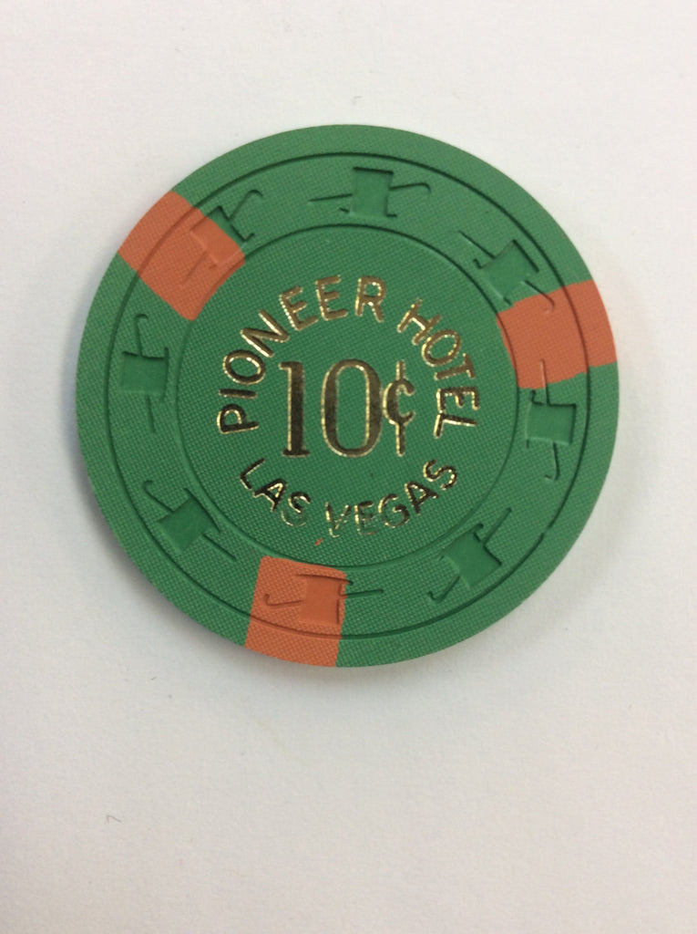 Pioneer Club 10cent (green) chip