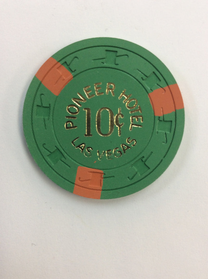 Pioneer Club 10cent (green) chip - Spinettis Gaming