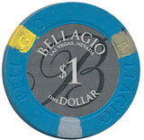Bellagio Casino, Las Vegas NV $1 Casino Chip - Spinettis Gaming