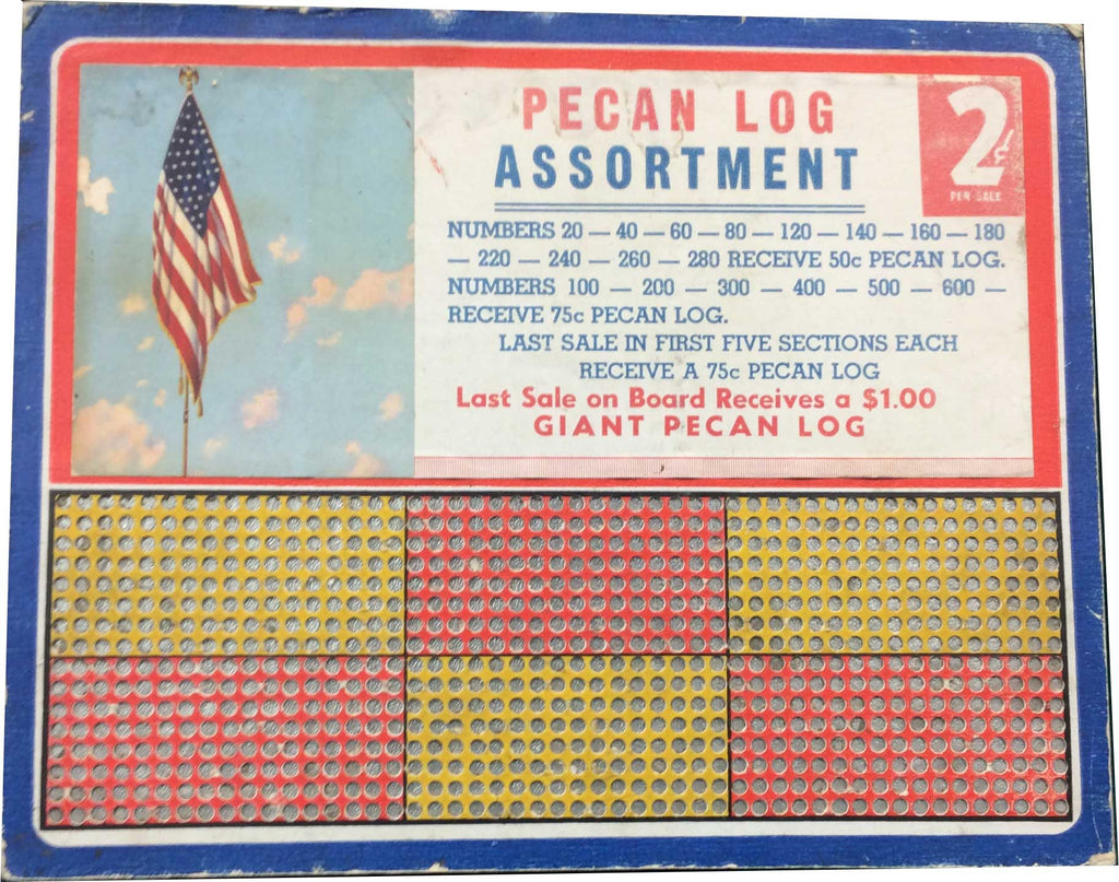 Pecan Log Assortment Punchboard