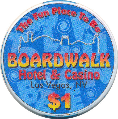 Boardwalk $1 (blue 2003)