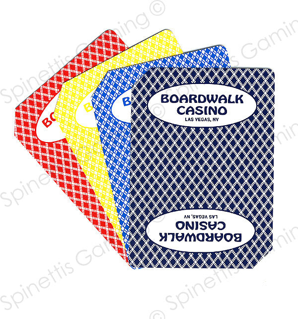 Boardwalk Casino Used Deck Playing Cards