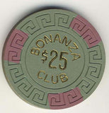 Bonanza Club Stateline $25 Chip - Spinettis Gaming - 2