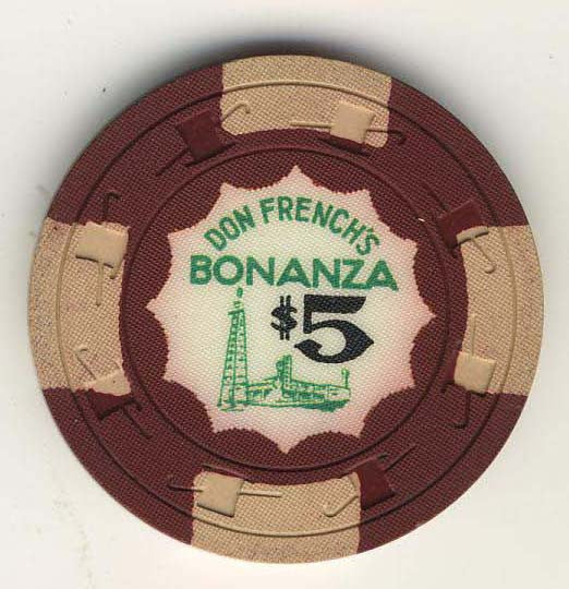 Bonanza, Don French's Casino $5 Chip