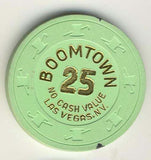 Boomtown Casino 25 (green 1996) NCV Chip - Spinettis Gaming - 1