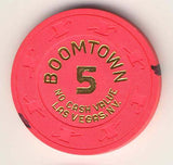 Boomtown Casino 5 (NCV) Chip - Spinettis Gaming - 1