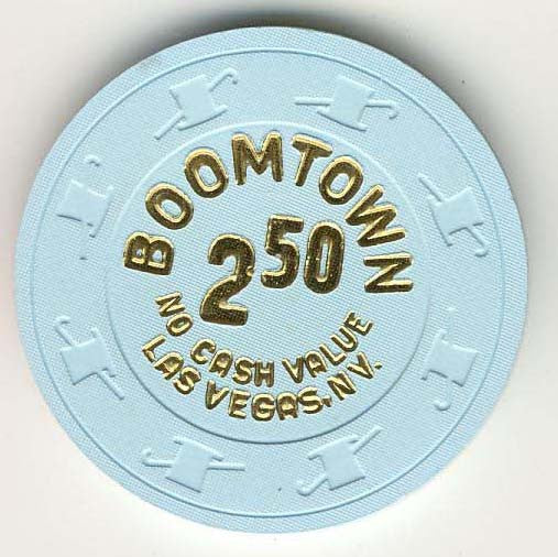 Boomtown Casino $1 ( blue 1996) NVC Chip - Spinettis Gaming - 1