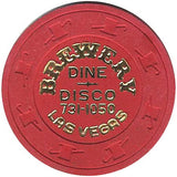 Brewery Casino (Dine-Disco) Chip - Spinettis Gaming - 2