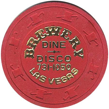 Brewery Casino (Dine-Disco) Chip - Spinettis Gaming - 1