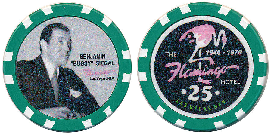Fantasy Bugsy Siegel & Flamingo $25 Chip