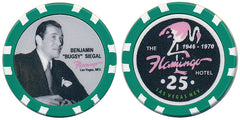 Bugsy Siegel & Flamingo Commemorative $25 Chip - Spinettis Gaming
