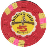 Burro Inn Casino $5 Chip - Spinettis Gaming - 1