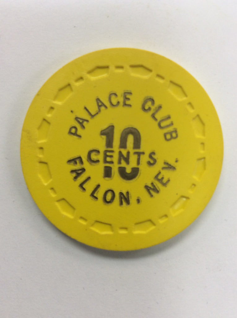 Palace Club 10cent (yellow) chip