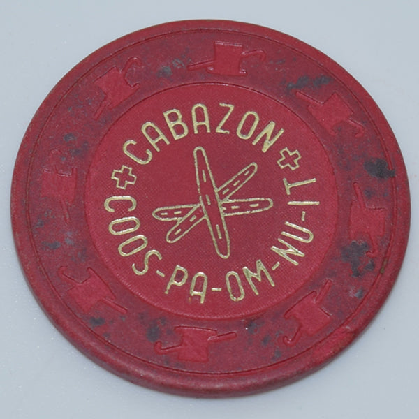 Cabazon Coos-Pa-Om-Nu-It Casino California 25 cent Chip