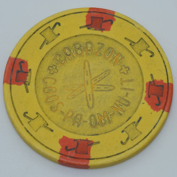 Cabazon Coos-Pa-Om-Nu-It Casino California $5 Chip