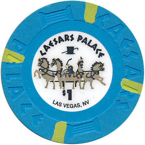 Caesars Palace Casino Las Vegas $1 Chip Small Inlay