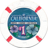California, Las Vegas NV $1 Casino Chip - Spinettis Gaming - 1