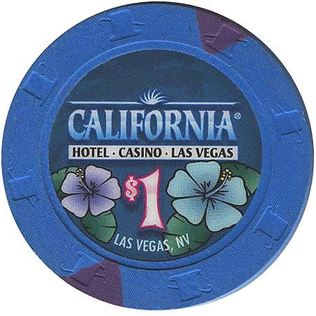 California Hotel $1 Chip - Spinettis Gaming - 1