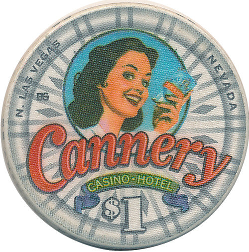 Cannery, North Las Vegas NV $1 Casino Chip - Spinettis Gaming - 1