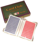 Card Club 100% Plastic 2-deck Set-Up - Spinettis Gaming