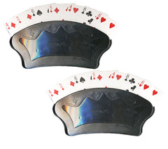 2 Large Playing Card Holders - Spinettis Gaming