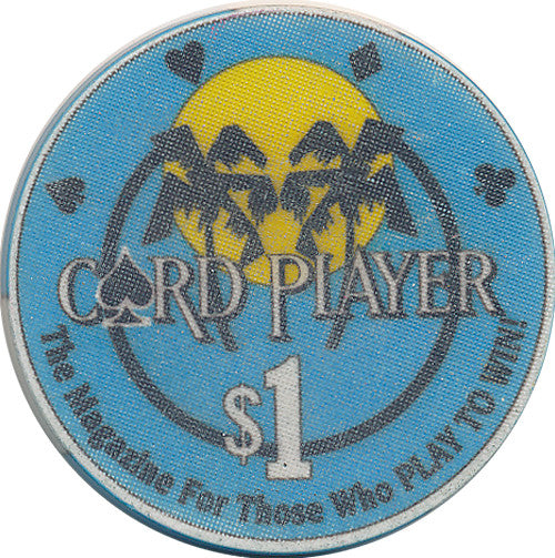Card Player Cruises $1 Casino Chip