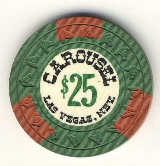 Carousel $25 (green 1965) chip