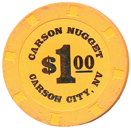 Carson Nugget, Carson City NV $1 Casino Chip - Spinettis Gaming - 1