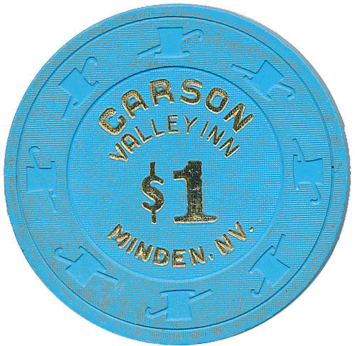 Carson Valley Inn, Minden NV $1 Casino Chip
