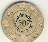 Castaways 50cent (cream 1967) Chip - Spinettis Gaming