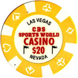 CBS Sports World Casino $20 Chip - Spinettis Gaming - 2