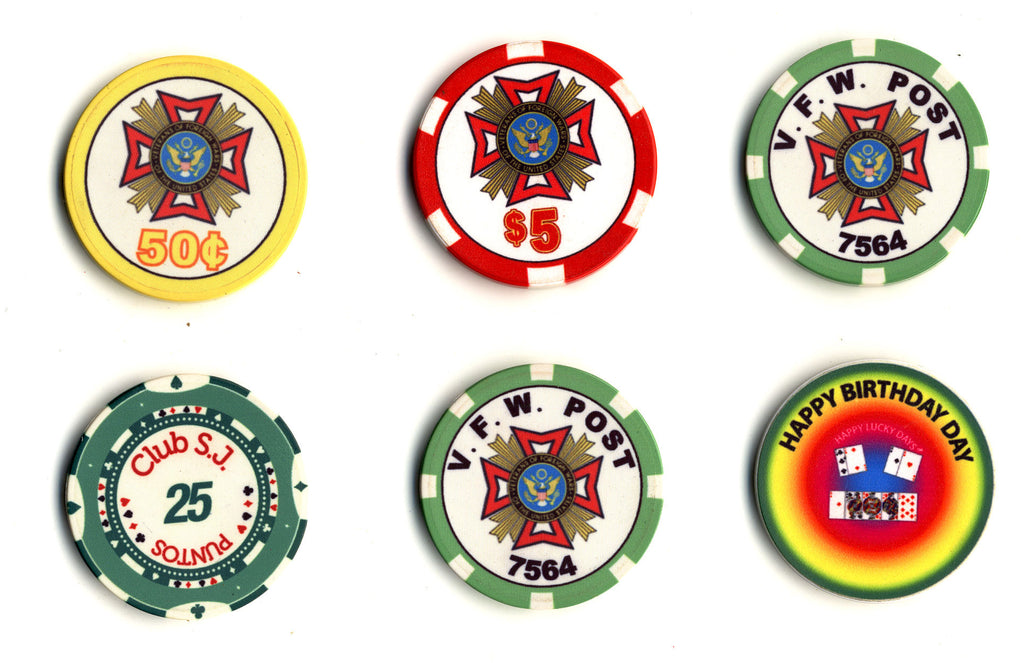 Casino Quality Custom Ceramic Poker Chips