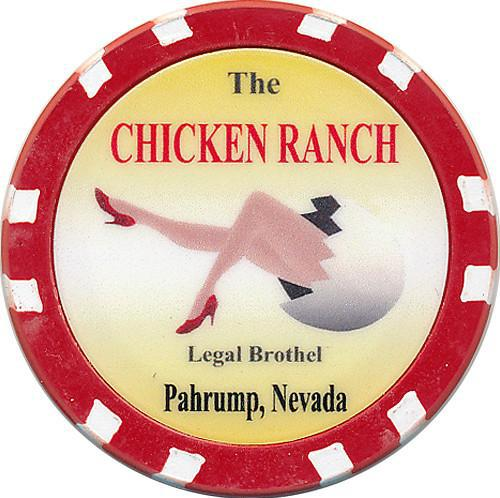 Brothel Chicken Ranch Chip - Spinettis Gaming - 1