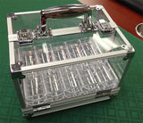 600 Poker Chips Carrier Locking Caddy With 6 Chip Racks - Spinettis Gaming - 4