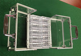 600 Poker Chips Carrier Locking Caddy With 6 Chip Racks - Spinettis Gaming - 3