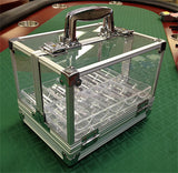 600 Poker Chips Carrier Locking Caddy With 6 Chip Racks - Spinettis Gaming - 1