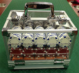 600 Poker Chips Carrier Locking Caddy With 6 Chip Racks - Spinettis Gaming - 5