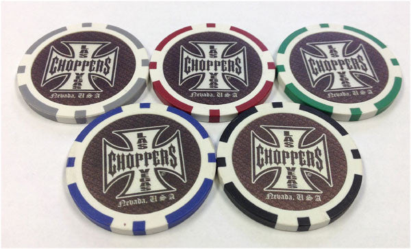 Las Vegas Chopper Chip Set (5 chips)