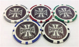 Las Vegas Chopper Chip Set (5 chips) - Spinettis Gaming