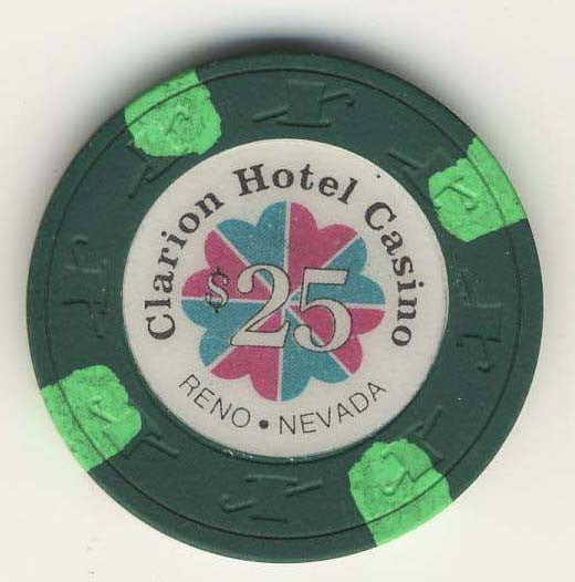 Clarion Hotel Casino $25 Chip - Spinettis Gaming - 1