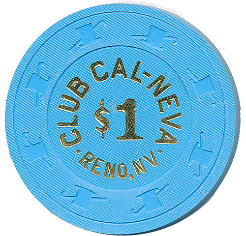 Club Cal-Neva, Reno NV (#1) $1 Casino Chip - Spinettis Gaming - 1