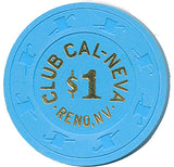 Club Cal-Neva, Reno NV (#1) $1 Casino Chip - Spinettis Gaming - 2