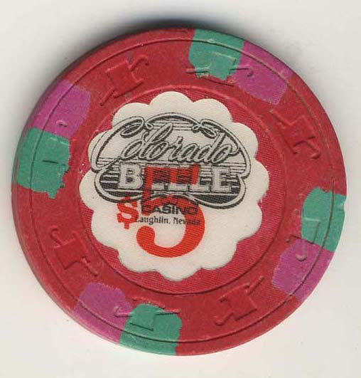 Colorado Belle $5 (red 1980) Chip