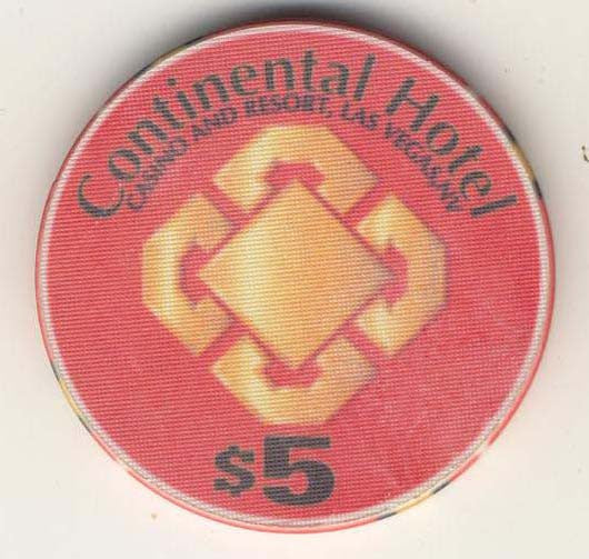 Continental $5 (red1996) Chip