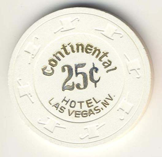 Continental 25 (white 1988) Chip - Spinettis Gaming - 1