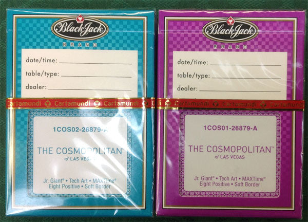 Cosmopolitan new casino playing deck - Spinettis Gaming - 1