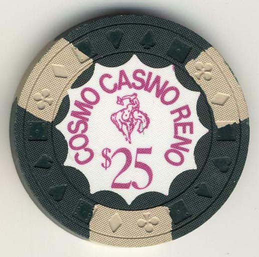 Cosmo Club $25 (dr.green 1970s) Chip - Spinettis Gaming - 1