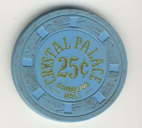Crystal Palace Casino Laughlin 25 cent Chip 1978